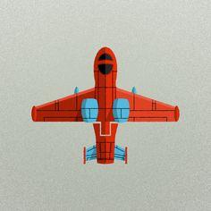 illustration, plane