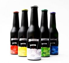 Student Work – Matthew Melling   Lovely Package #packaging #beer #color