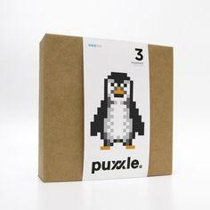 puxxle — Penguin #puxxle #yoyo #puzzle #pixel #gaming #art #penguin