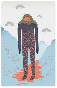Marina Muun lava boy final #illustration
