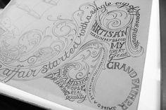 Ginger Monkey :: Tom Lane :: Illustration :: Design :: Typography :: Lahloo Pantry #illustration #lettering