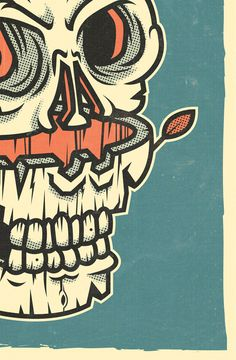 COVENANT OF IRON on Behance #vector #print #retro #ilustracin #illustration #poster #skull