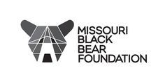 MO Black Bear logo concept #missouri #geometric #black #grid #illustration #triangle #mo #bear #face #animal