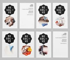 Logo & Branding: Resolve « BP&O Logo, Branding, Packaging & Opinion by Richard Baird #type #branding #business cards