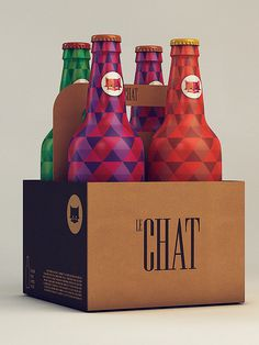 Le Chat on Behance #illustration #packaging #cat
