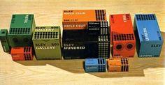 WANKEN - The Blog of Shelby White » 1966 Eley Ammunition #packaging #gun #bullets #ammunition #eley