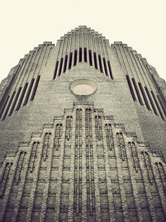 Grundtvigs Church on the Behance Network #church #architecture