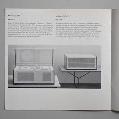 Braun Radio-phonogerate 1pamphlet Wolfgang Scheitel 1959 via www.dasprogramm.org