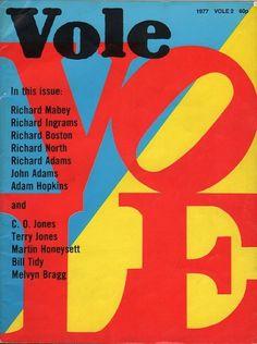 Vole magazine cover   Flickr - Photo Sharing!