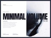 Minimal Volume Update