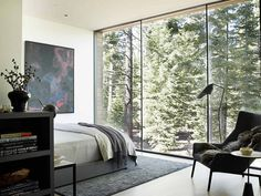 Modern Tahoe Mountain Retreat Jamie Bush & Co 12