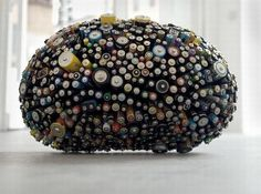 Eco Art: Dead Star –  discarded batteries conveys message of recycling