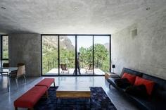 Minimalist Mexico Home with Cool, Concrete Interior 9