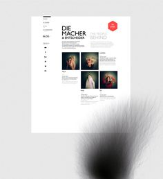 OBSCURA BOOK WEBSITE on Behance #pinhole #obscura #design #webdesign #layout #web #typography