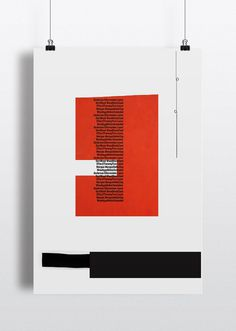 Typographic PostersType is Paint 03 #type #red