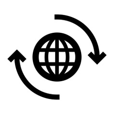 See more icon inspiration related to global, international, worldwide, geography, world grid, Maps and Flags and earth grid on Flaticon.