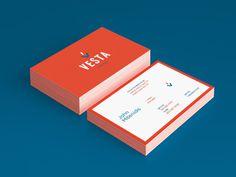 Vesta Foods - grab.the.eye | design & visual communication #card #foods #business
