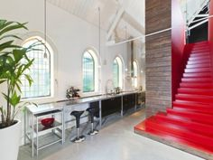 Converted Church by LKSVDD Architects #interior #church #design #decor #deco #decoration