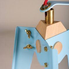 oliver hrubiak: frank table lamp