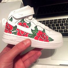 Air Force 1's by the London based artist Adam Claridge