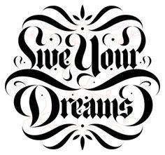 Boris Pelcer :: Lettering For You II #live #boris #lettering #lfy #you #borispelcer #lfyii #for #your #custom #pelcer #2 #dreams