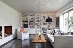 We want: white slatted ceilings at KITKA design toronto #living #room
