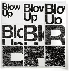 Typographic posters by Experimental Jetset