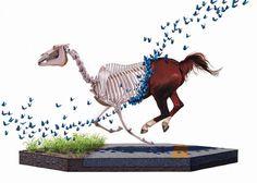 Paintings - Josh Keyes #keyes #horse #josh #paintings