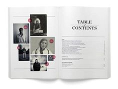 Greg Hubacek #magazine #editorial #contents