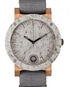 #stone #watch #wood