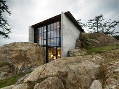 architecture, modern, building, house