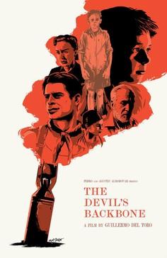 The Devil's Backbone poster by Matt Talbot