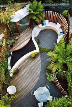 Contemporary garden design Ideas and Tips - www.homeworlddesign. com 2 #garden design #modern garden
