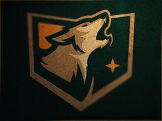 Alaska Wolfpack #logo #design #wolf