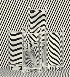 tumblr_lkxw9dEVXz1qz6f9yo1_500.jpg 500×547 pixels #op art #stripes