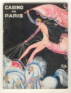 coqueterías - baubauhaus: via upload.wikimedia.org #casino #vintage #poster