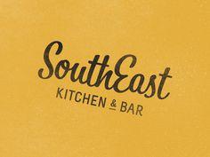 Logo #logo #logotype #branding #rough #raw #gold #texture #typography #restaurant