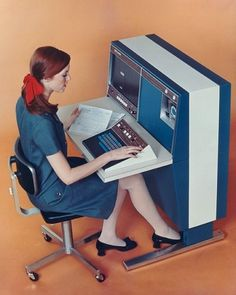 All sizes | vintage computing '67 | Flickr - Photo Sharing! #1960s #retro #computers