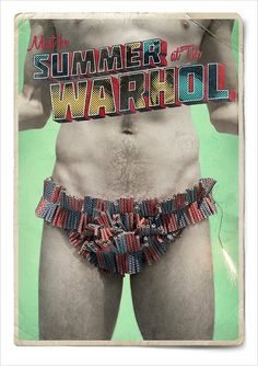 "The Andy Warhol Museum: ""Summer's Different Here 3"" Print Ad by MARC Pittsburgh #ads #andy #pop #museum #warhol #advertising #art"