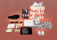 Design Work Life » cataloging inspiration daily #salon #branding #serif #identity #hearts