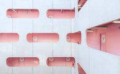 Colorful University: Architecture Photography by Ludwig Favre