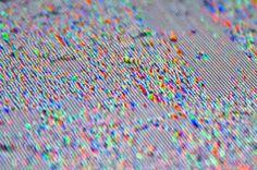 Pixel distortion #colors #rgb #fluid