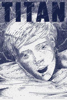 titan cover teaser http://baubau.tumblr.com/ #comic #titan #bau