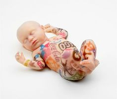 Tattoo Branded Babies | thaeger - blog this way #manipulations