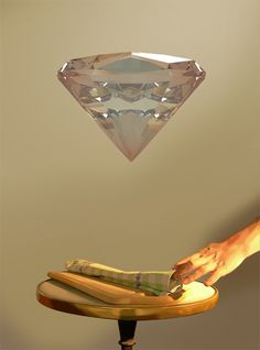 Baptiste Brunello : Résidence en ligne | La Gaîté Lyrique #surreal #art #diamond