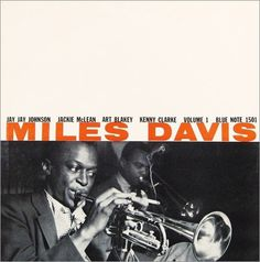 Blue Note 1500 series - jazz album covers #music #miles davis #album #blue note #john hermansader