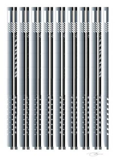 Wave Ventilation #vent #white #air #grayscale #design #black #architecture #keaton #art #and #ventilation #columns