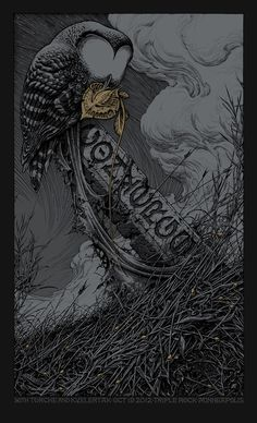 Aaron Horkey #illustration #poster