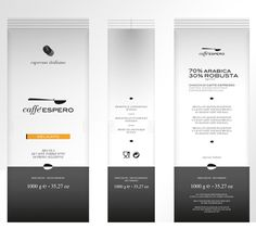 Caffè Espero on Behance #caff #logotype #branding #packaging #corporate #brand #identity #coffee #pack