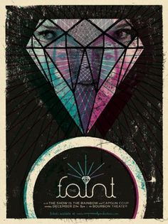 Mulligan Studios #faint #design #doe #nyffeler #the #eric #illustration #poster #eyed